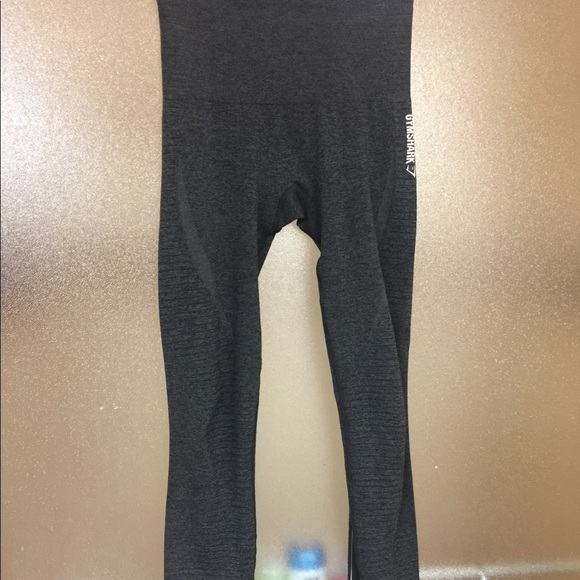 8bdcb9568dea5 gymshark Pants - Gymshark Seamless Leggings Black Marl (xs)